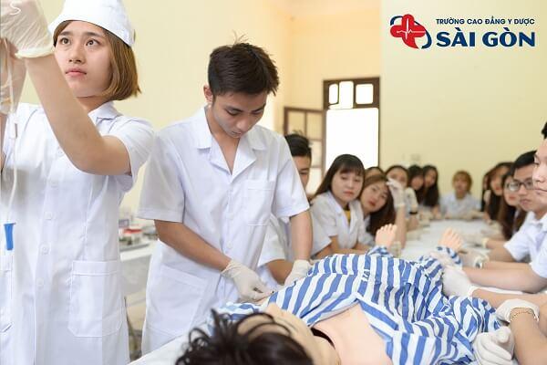 Cao đẳng Y Dược Sài Gòn điểm chuẩn 2021